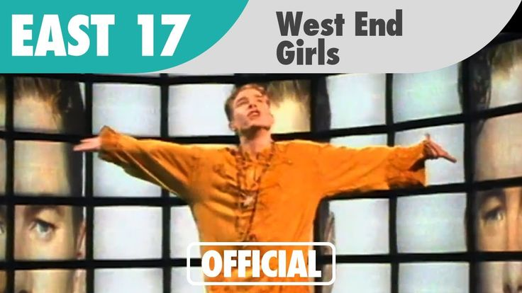 East 17 - West End Girls (Official Music Video). HAHAHA I had this on tape!! Not even close to being as good as the Pet Shop Boys version, obviously.