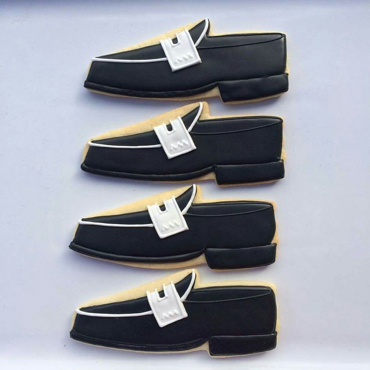Loafer Shoe Cookies | Oh Sugar