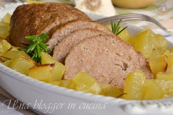 polpettone con patate (5)