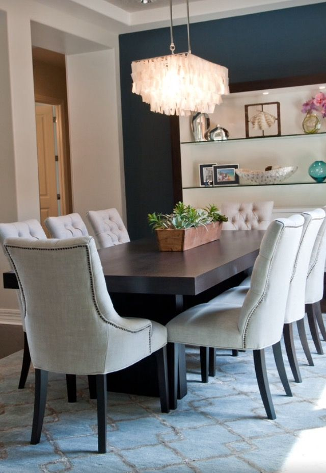 Windgate Ranch contemporary dining room