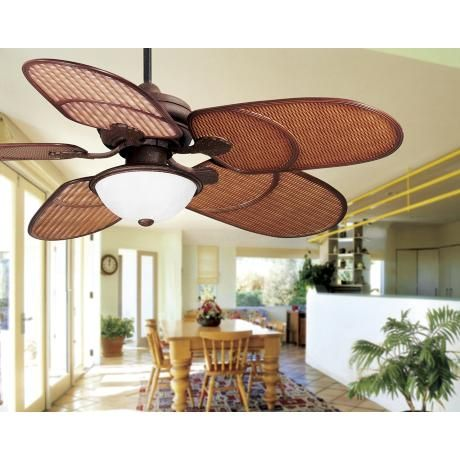 51 best ceiling fans images on pinterest bedroom girls bedrooms 52 casa vieja rattan outdoor tropical ceiling fan mozeypictures Gallery