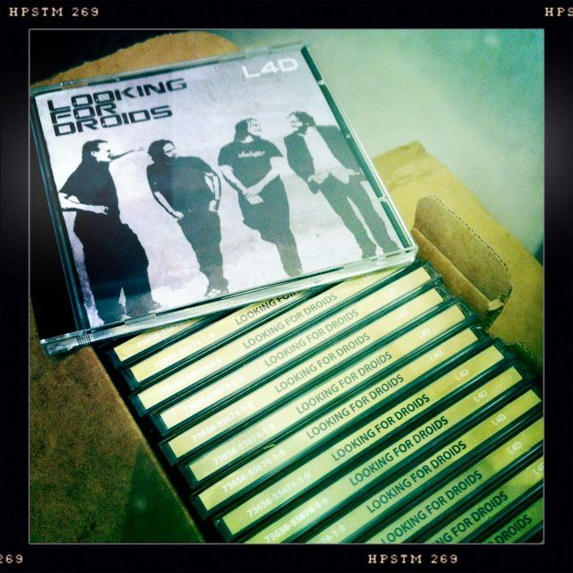 fresh box of debut #lookingfordroids #album #l4d