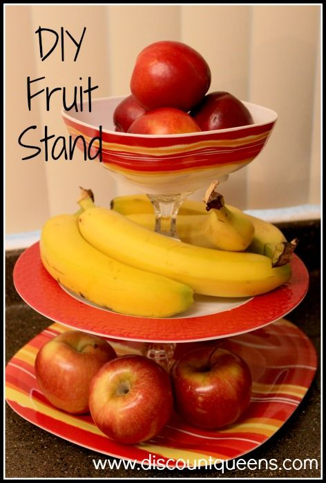 DIY Fruit Stand  http://fabulesslyfrugal.com/diy-fruit-stand/