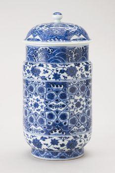 Jingdezhen [Jiangxi Province, China], Pair of jars mid-18th century