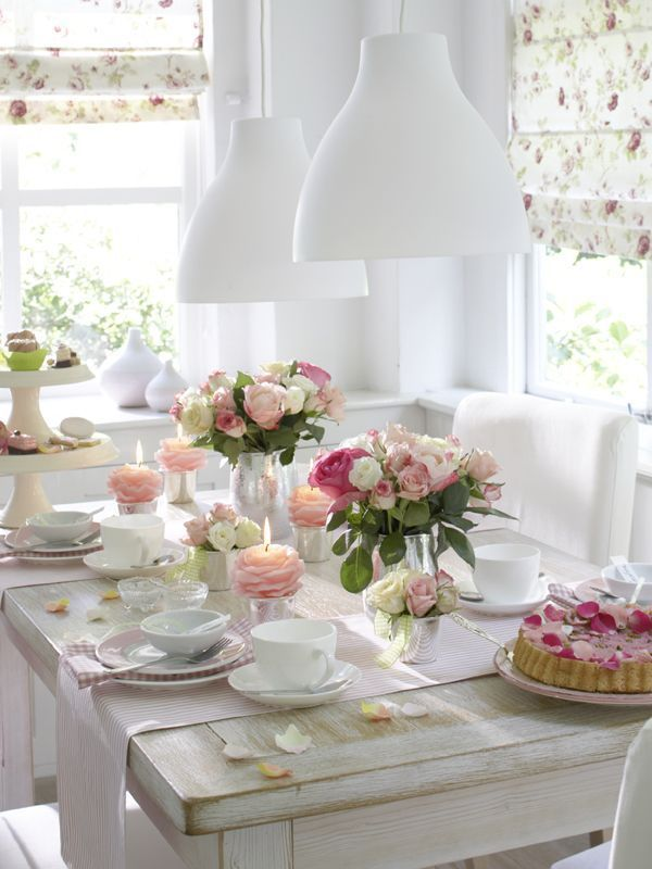 17 best images about mother 39 s day table settings on - Tavole apparecchiate moderne ...