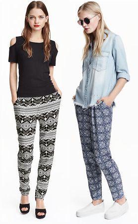 (3 Choices) H&M Loose Fit Pants