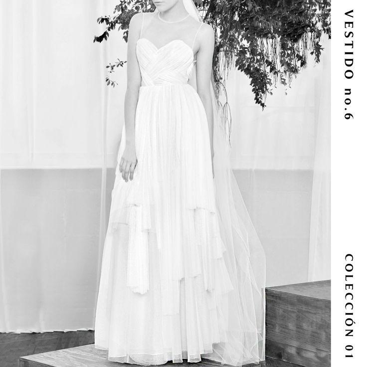 Vestido no. 6  Colección 01  #TristaneIsoldaNovias