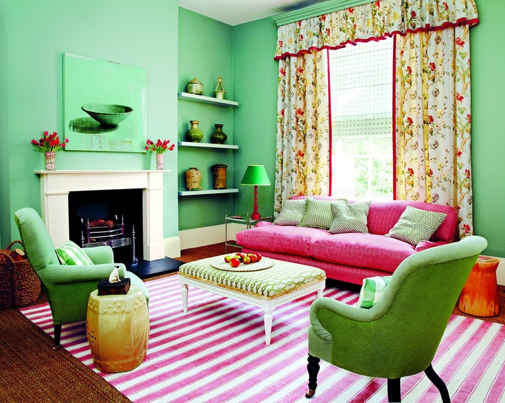 Colour Walls In Farrow Ball 39 S Chappell Green Shelves In Light Blue Estate Eggshell And