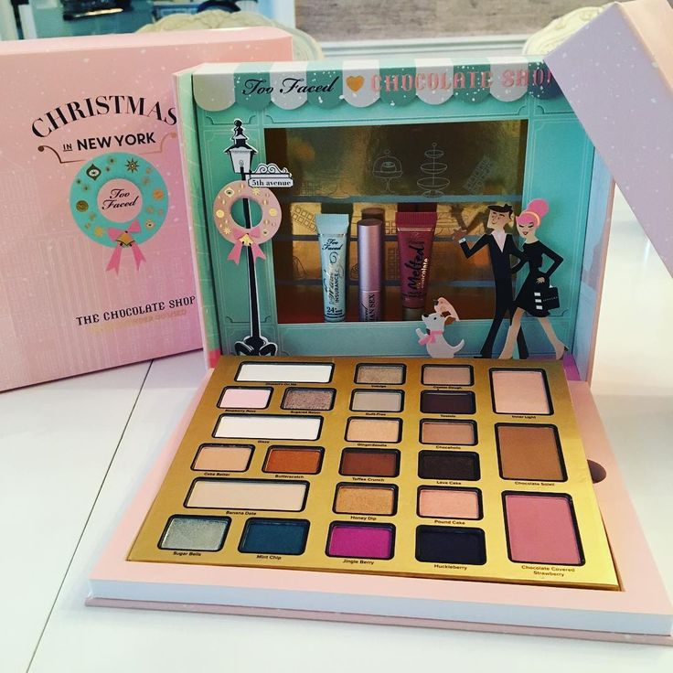 Too Faced Holiday collection sneak peek! #makeup