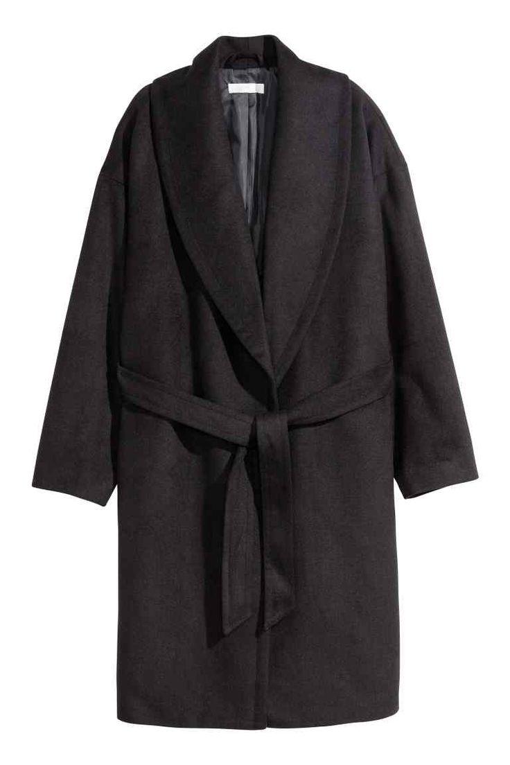 Manteau en laine mélangée | H&M 40 euros