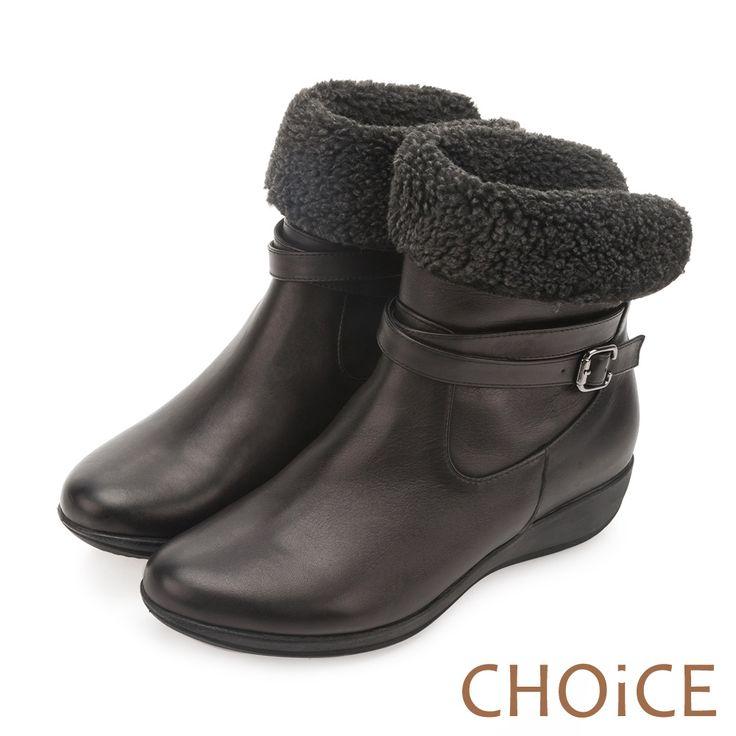 https://tw.buy.yahoo.com/gdsale/CHOiCE個性復古牛皮反領捲毛低跟短靴黑色-5535916.html