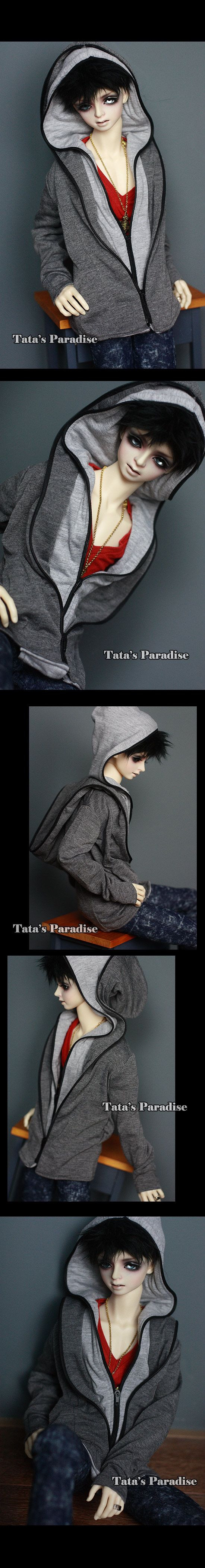 NO:MLD203 Double hat hoodie-B_HOUND/DZ 70/DOI_TA·CLOTHES_TATA'S PARADISE