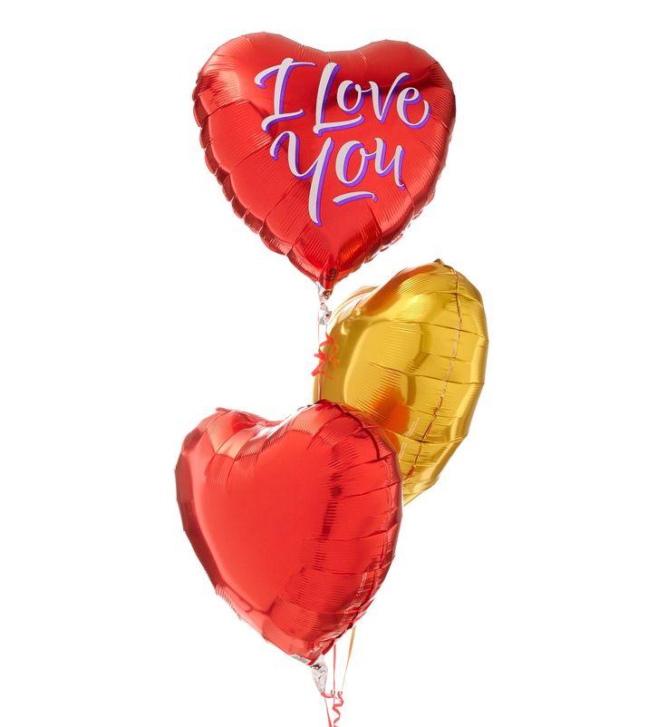 Valentijn - Ballonnentros i love you   Hallmark