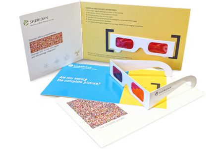 Sheridan Direct Marketing 3D-Direct Mail Piece                                                                                                                                                                                 More                                                                                                                                                                                 More