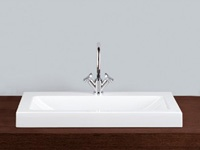 Alape | Absolut | 800 AB2 Semi Inset Basin 1TH