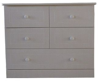 Large 5 Drawer Compactum with Lip