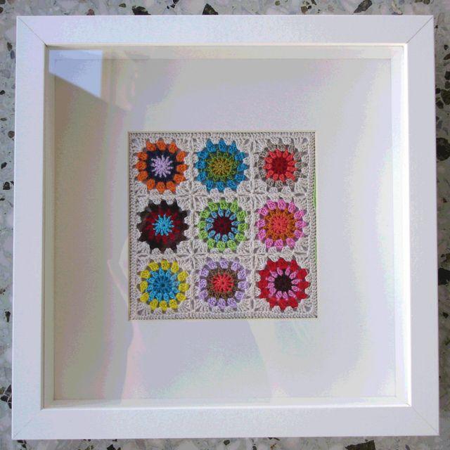 crochet grannies as art!