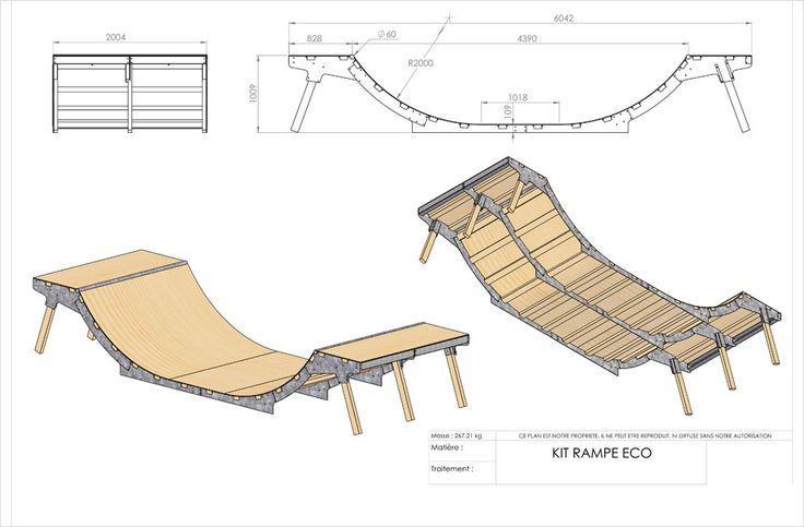 Mini rampe skate 6m - e-rampe.com