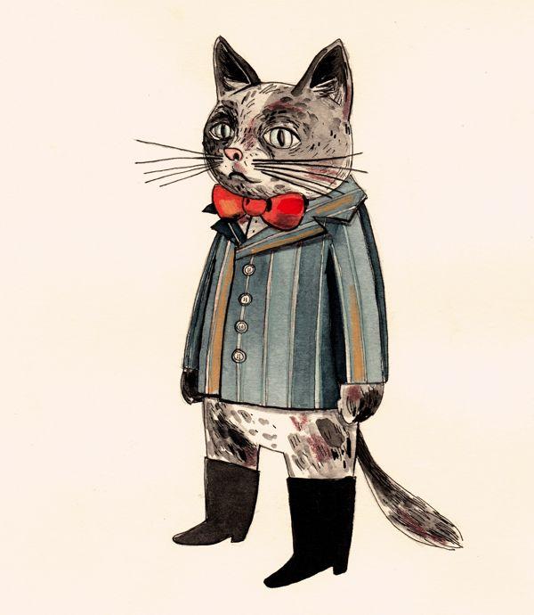 Mačak. by Tanja Stevanovic, via Behance