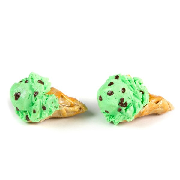 Mint Choco Chip Earring – Shelfies - Outrageous Clothing