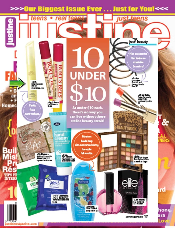 Check out the LCN Polish Corrector Pen and more beauty products under $10 in the October edition of Justine Magazine!