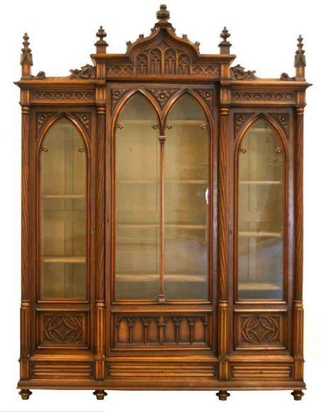 Gothic Style Bookcase | Homeware Studio