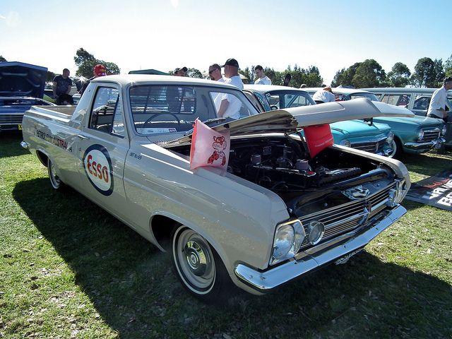 1966 Holden HR utility. Esso Petroleum Australia livery.