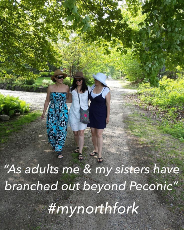 #mynorthfork - 12/22/2017 Back in the early 1970s when Dad loaded us up in the family car and took me and my two older sisters from our Bronx brick attached house for a drive that felt like it was taking an eternity we were headed straight for Peconic. He had a surprise. He bought a cottage down a dirt road. The ride to the house was a trip we repeated most every summer of our lives just as soon as school let out.  I was too young to understand the significance Peconic would come to have in…