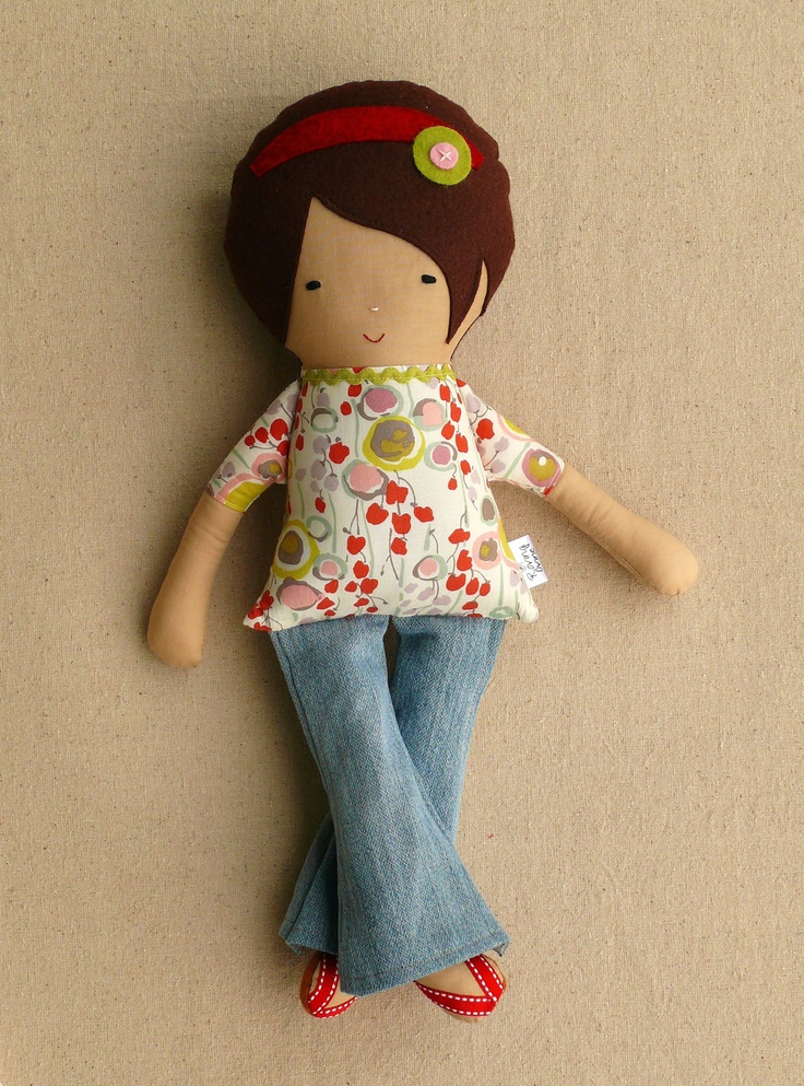 how to make fabric dolls at home
