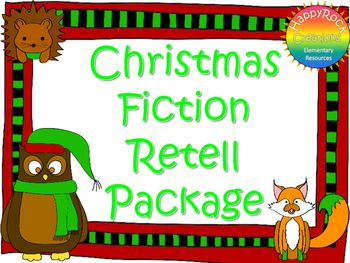 This Christmas Fiction Retell Package includes a mini-lesson, graphic organizers (story map), reading response prompt, Christmas writing paper and a self-assessment checklist. Print and go - use with your favourite Christmas/holiday book. No prep! Suitable for grades 2-8 - simply align with your writing expectations and the writing process in place within your class. ***************************************************************************INCLUDED: 1 page lesson plan, 3 graphic organizers…