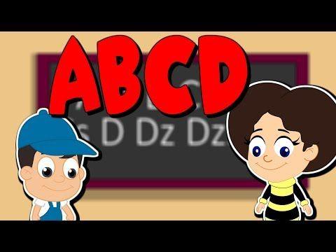 ABCD | Magyar ABC gyerekeknek | Gyűjtemény | Rajzfilm gyerekeknek - YouTube
