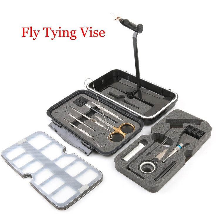 Maximumcatch Fly Tying Vice Travel Set  Fly Tying Vise Fishing Tool Fishing Tackle
