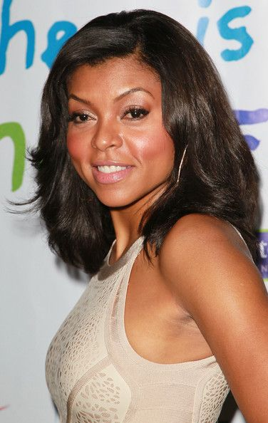 Taraji P. Henson Real-Hair | Taraji P. Henson Actress Taraji P. Henson attends the 2011 Jenesse ...