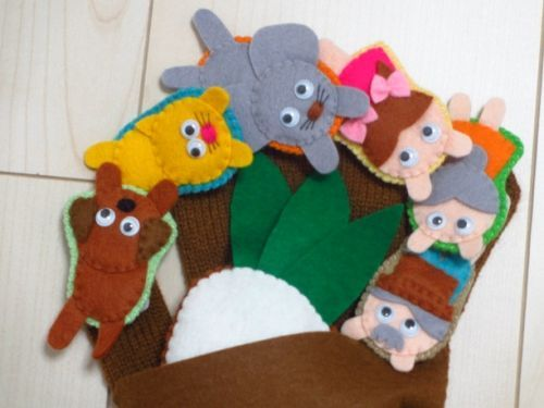 「簡単にできる手袋人形の作り方と手袋シアター人形をご紹介します」の記事の18枚目の画像 | MARBLE [マーブル]
