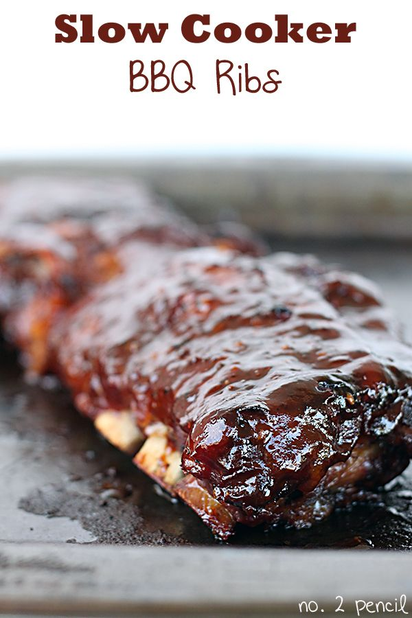 Easy slow-cooker bbq ribs