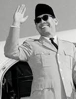 Soekarno, Indonesian 1st President