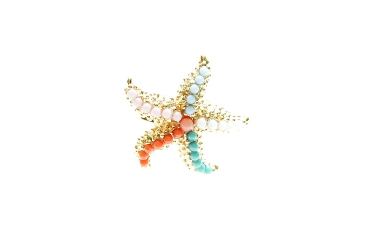 Stacy Starfish Ring  http://www.chutani.ch/collections/rings/products/stacy-starfish-ring