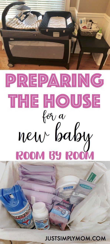 So organisieren Sie Ihr Haus, bevor Sie das neue Baby nach Hause bringen