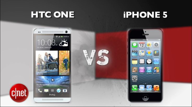 Prize Fight: Check out who wins in a head to head between the HTC One and iPhone 5 http://cnet.co/17Hv2AG