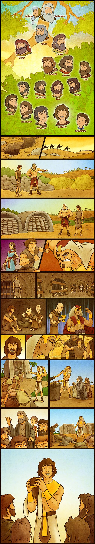 Joseph's Story Comic by eikonik.deviantart.com on @DeviantArt
