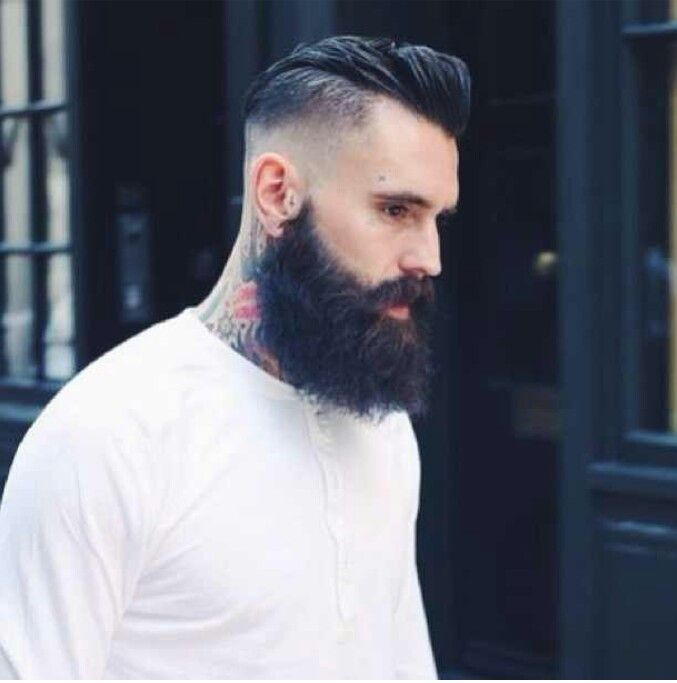 Pleasant 1000 Images About Fade Haircuts With Beard On Pinterest Men Short Hairstyles Gunalazisus