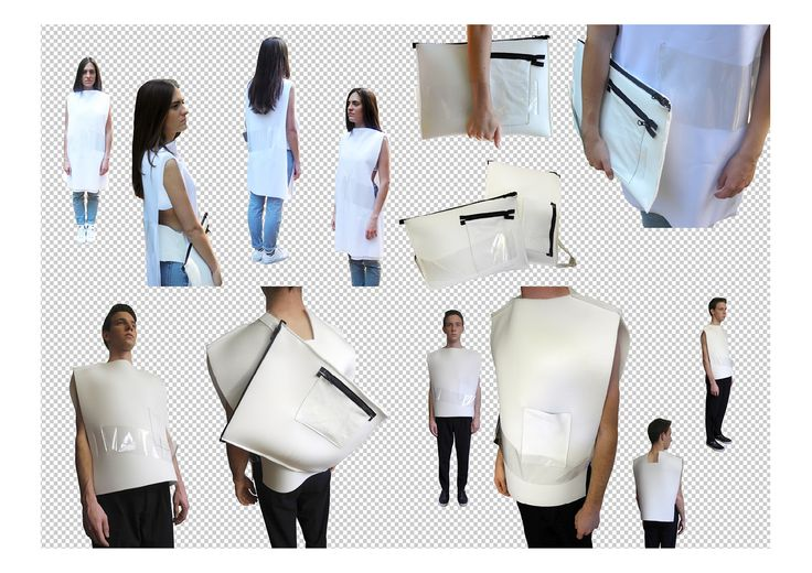 #WHITE project - Complete presentation collage #fashion #design #clothing #accessories #fabrics