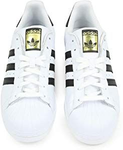 timeless design cbb9c a8686 adidas Unisex-Erwachsene Superstar Low-Top, Weiß (Ftwr White Core Black