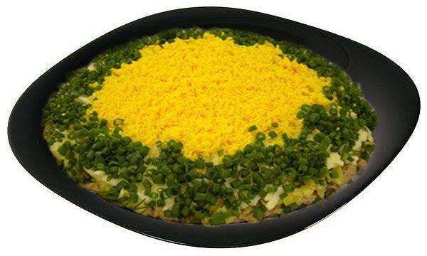 Рецепт салата лосось с рисом