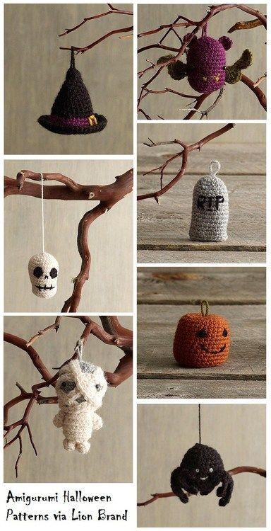 free halloween amigurumi!