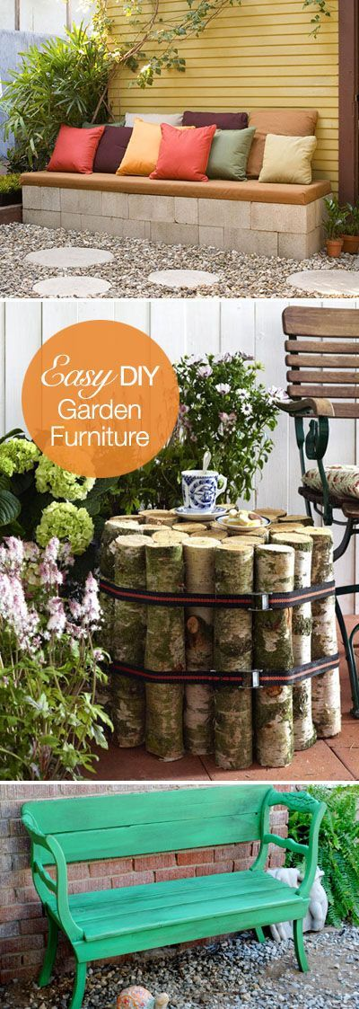 Should these go under the DIY or Outoodr category... hmmm.....Easy DIY Outdoor Furniture Projects!