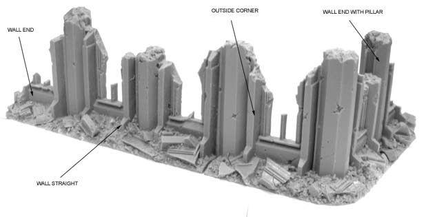 Cityfight Terrain | 40k terrain | Warhammer terrain, 40k