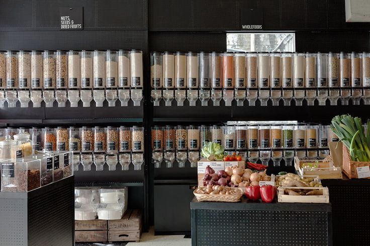 Black peg board   Unpackaged, Hackney  health foods and the like – without providing any packaging
