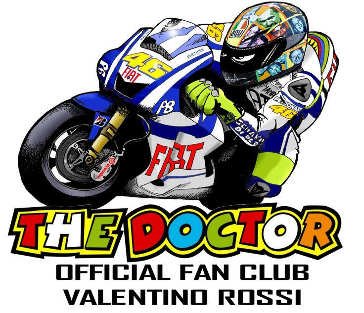 Projet pour le T-Shirt officiel du Fan-Club de Valentino Rossi