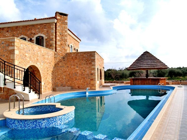 New established Rental Villa Resort with operating tavern restaurant and swimming pool for sale. Located in rural beautiful landscape at the outskirts for a small settlement, ideal for those seeking absolute relaxation and freedom of movements during their holidays...